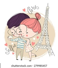 Love Boy Girl Cartoon Images Stock Photos Vectors Shutterstock