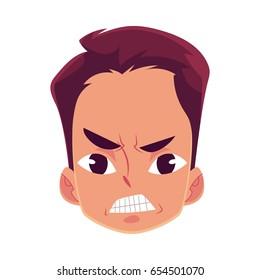 Upset Man Face Stock Illustrations - Dreamstime