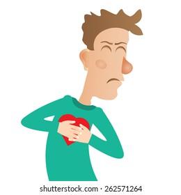 Dolor de pecho y dolor de oído