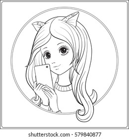 Stock Vector Coloring Book For Adult Images Stock Photos Vectors