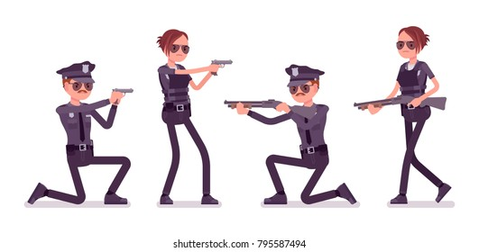 Police Officer Shooting Stock Images, Royalty-Free Images