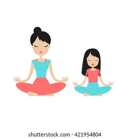 Kids Yoga Icons Images, Stock Photos & Vectors | Shutterstock