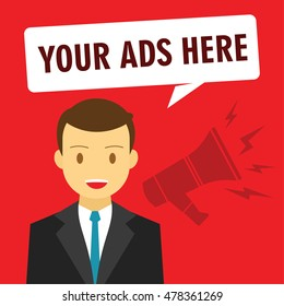 your ads here advertising promotion