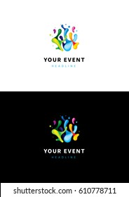 Your event logo template.
