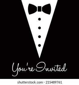 you're invited black tie