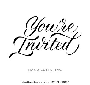 you re invited invitations