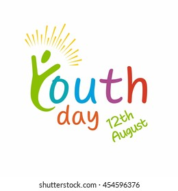 Youth Day Logo template
