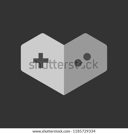 You Tube Gaming Icon Google Icon Vector Stock Vector Royalty Free