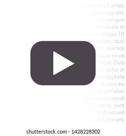 Youtube Logo Icon Stock Vectors, Images & Vector Art