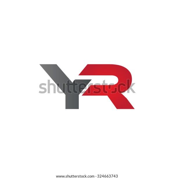 YR company linked letter logo