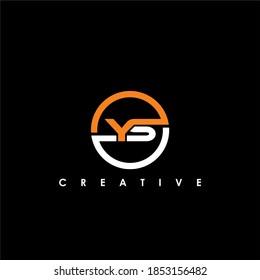 YS Letter Initial Logo Design Template Vector Illustration