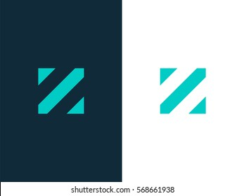 Z Letter Logo concept. Creative Minimal Alphabet emblem design template. Graphic Symbol for Corporate Business Identity. Creative Vector graphic element