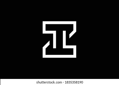 Z letter logo design on luxury background. ZZ monogram initials letter logo concept. ZT icon design. TZ elegant and Professional letter icon design on black background. Z ZZ ZT TZ