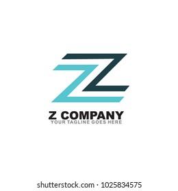 Z letter logo design vector template
