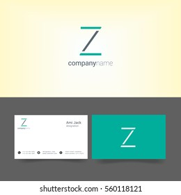 Z Letter logo design vector element