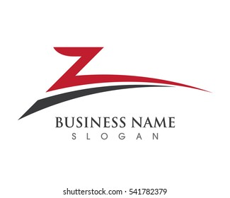 Z Letter Logo template vector icon design