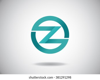 Z letter vector logo