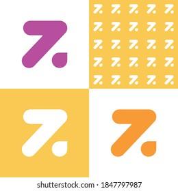 Z. Logo. Bright vector sign.