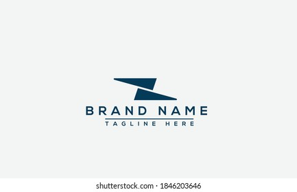 Z Logo Design Template Vector Graphic Branding Element.
