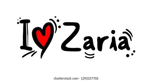Zaria city of Nigeria love message