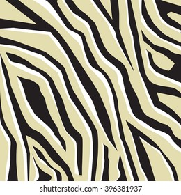 Zebra big print