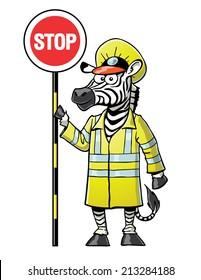 Zebra Crossing Guard