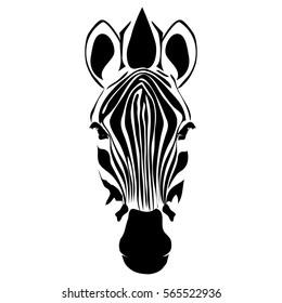 Zebra Body Art Stencils