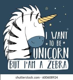 zebra illustration vector for print design.