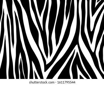 zebra pattern. vector Animals background