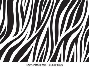 zebra pattern. vector background