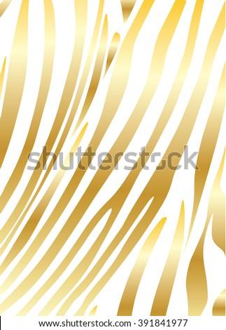 zebra print zebra gold color gold のベクター画像素材 ロイヤリティ