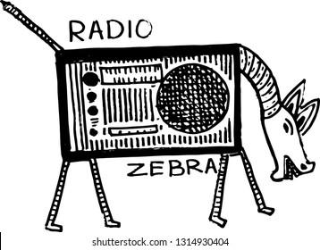 zebra radio ethnic