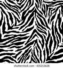 zebra seamless vector background