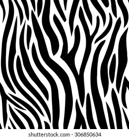 Zebra skin, seamless pattern