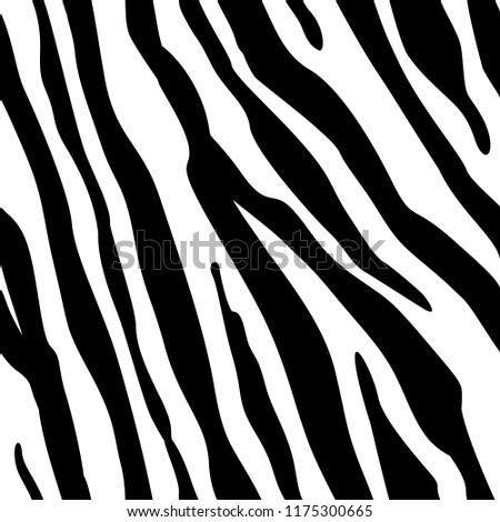 zebra stripes seamless pattern zebra print stock vector royalty