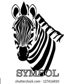 zebra symbol vector