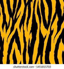 zebra tiger leather seamless pattern graphic design textile tee shirt print