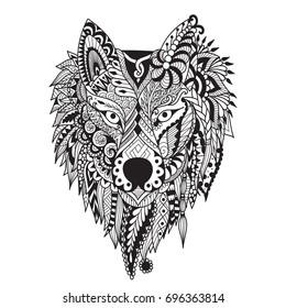 dire wolf images stock photos vectors shutterstock