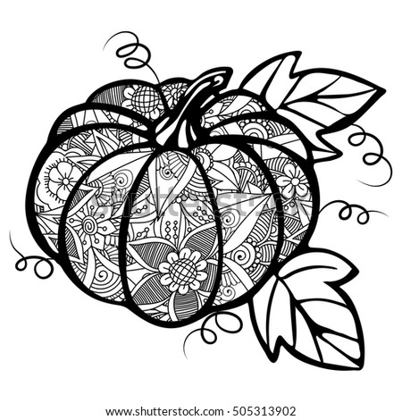 shelly beauchamp zen tangles coloring pages | Zentangle Abstract Pumpkin Zentangle Flowers Zentangle ...
