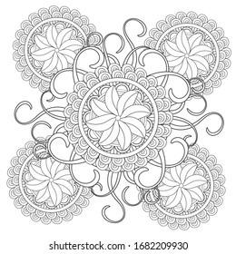 Vintage Coloring Pages Images Stock Photos Vectors Shutterstock
