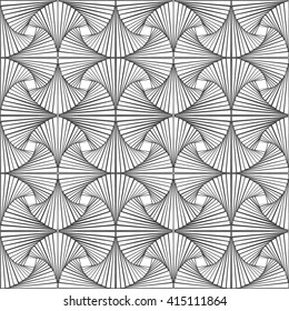 Zentangle pattern with black and white ornamental seamless vector patterns.. Geometric monochrome  hand-made  texture.