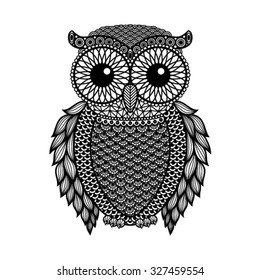 500 Owl Black And White Pictures Royalty Free Images Stock