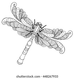 DRAGONFLY AND FAIRY COLORING PAGE | Fairy coloring pages, Detailed ... | 280x260