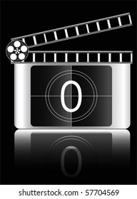 zero Film countdown vector