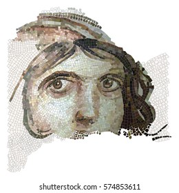 zeugma-girl vector