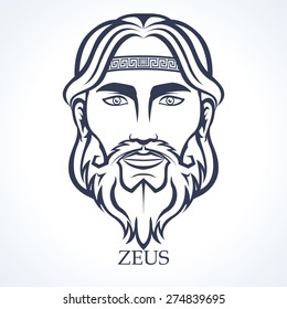 Zeus, ancient greek god, Supreme god of the Olympians