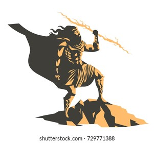 zeus god of the ray