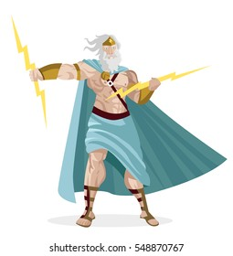 zeus greek god of the ray and storms