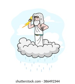 Thunder God Images Stock Photos Vectors Shutterstock