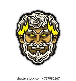 Zeus Head Vector